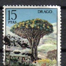 Sellos: ESPAÑA 1973 15 P EDIFIL 2124 - DRAGO. Lote 8126510