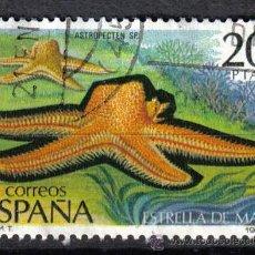 Sellos: ESPAÑA 1979 20 P EDIFIL 2534 - ESTRELLA DE MAR. Lote 8126566