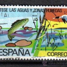 Sellos: ESPAÑA 1978 5 P EDIFIL 2470 - PROTEGE LAS AGUAS Y ZONAS HUMEDAS. Lote 8126593