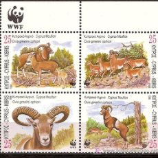 Sellos: WWF CHIPRE 1998. Lote 15260166