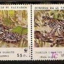 Sellos: WWF EL SALVADOR 1988. Lote 27424832