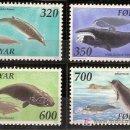 Sellos: WWF ISLAS FEROE 1990. Lote 27098276