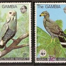 Sellos: WWF GAMBIA 1978. Lote 26270435