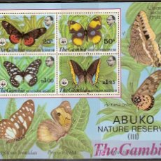 Sellos: WWF GAMBIA 1980. Lote 26270433