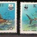 Sellos: WWF KIRIBATI 1991. Lote 27098279