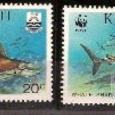 Sellos - WWF KIRIBATI 1991 - 27098279