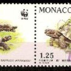 Sellos - WWF MONACO 1991 - 9132216