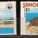 Sellos: WWF SAMOA Y SISIFO 1978 BARATO, BARATO, COMPARE PRECIOS . Lote 27429239