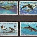 Sellos: WWF SANTO TOME Y PRINCIPE 1992. Lote 27268775