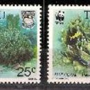 Sellos: WWF TUVALU 1992. Lote 27268772