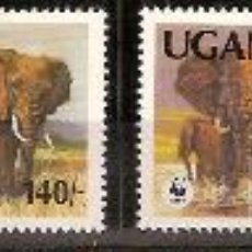 Sellos - WWF UGANDA 1991 - 9158232
