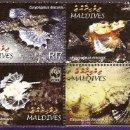 Sellos: WWF MALDIVAS 2004. Lote 27429214