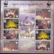 Sellos: WWF MICRONESIA 2005 MINI HOJA. Lote 26202241