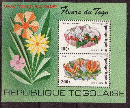 TOGO HB 85*** - AÑO 1975 - FLORES DIVERSAS (Sellos - Temáticas - Naturaleza)