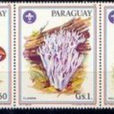 Sellos: PARAGUAY 1986 2207/12 SETAS 6V . Lote 8767106