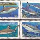 Sellos: WWF AUSTRALIA ISLAS COCOS 2005 TIBURON. Lote 27268759