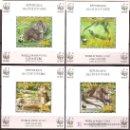 Sellos: WWF COSTA DE MARFIL 2005 HOJAS BLOQUE INDIVIDUALES. Lote 27450920
