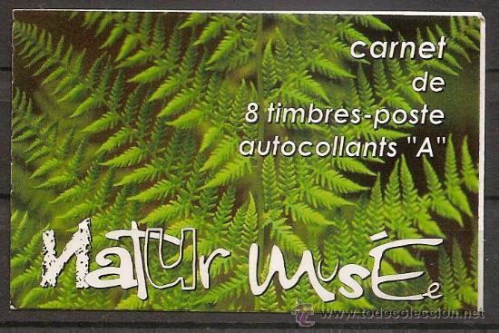 LUXEMBURGO,CARNET 2002,NATURALEZA,MATASELLO 1ER DIA DE EMISION,DOS FOTOS. (Sellos - Temáticas - Naturaleza)