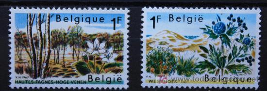 BÉLGICA BELGIUM SELLOS NUEVOS MNH FLORES FLOWERS FL-02 (Sellos - Temáticas - Naturaleza)