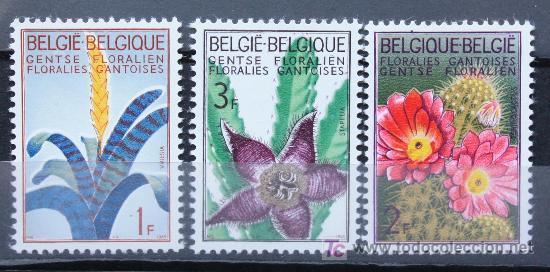 BÉLGICA BELGIUM SELLOS NUEVOS MNH FLORES FLOWERS FL-03 (Sellos - Temáticas - Naturaleza)
