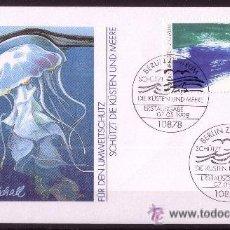 Sellos: ALEMANIA SPD 1821- AÑO 1998 - PROTECCION DEL MEDIO AMBIENTE - PROTECCION DE LOS MARES Y LAS COSTAS. Lote 23189833