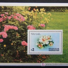 Sellos: GRENADA GRENADINES SELLO NUEVO MNH FLORES FLOWERS FL-71. Lote 17847037