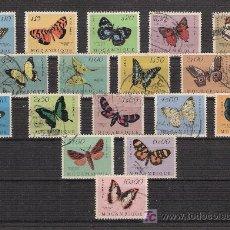 Sellos: AÑO 1953 - MOZAMBIQUE - MARIPOSAS. Lote 25681992