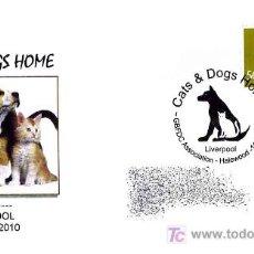 Sellos: MATASELLOS DE PERROS Y GATOS - LIVERPOOL 2010. Lote 18395417