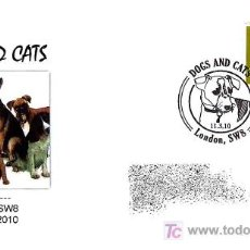 Sellos: PERROS-DOGS-CHIENS. LONDON 2010. Lote 18628307