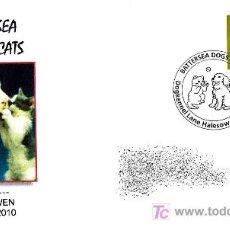 Sellos: MATASELLOS DE PERROS Y GATOS. HALESOWEN 2010. Lote 18628322