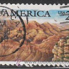Sellos: ESTADOS UNIDOS (25-12), GRAN CAÑÓN DEL COLORADO, USADO. Lote 19527469