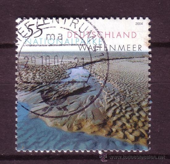 ALEMANIA 2232 - AÑO 2004 - PARQUES NATURALES - PARQUE NACIONAL DE WATTENMEER (Sellos - Temáticas - Naturaleza)