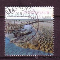 Sellos: ALEMANIA 2232 - AÑO 2004 - PARQUES NATURALES - PARQUE NACIONAL DE WATTENMEER. Lote 21160137