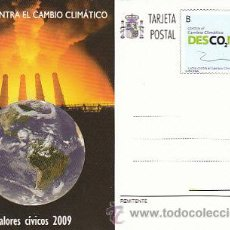 Sellos: EDIFIL 184, VALORES CIVICOS: LUCHA CONTRA EL CAMBIO CLIMATICO, NUEVO. Lote 27966009