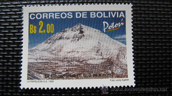 BOLIVIA 1999, POTOSI, EL CHOROLQUE 5603 METROS (Sellos - Temáticas - Naturaleza)