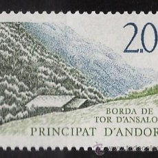 Sellos - andorra francesa - turismo - tor d'ansalonga - naturaleza - 1 val - s.c - .nueva - año 1988 - 31833987