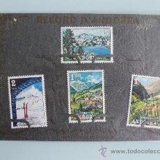 Sellos: 4 SELLOS DE ANDORRA,AÑOS 70 , NUEVOS. Lote 33934115