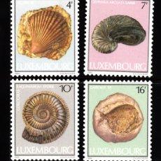Sellos: LUXEMBURGO 1057/60** - AÑO 1984 - FOSILES. Lote 38822928