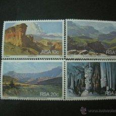 Sellos: AFRICA DEL SUR - RSA 1978 IVERT 453/6 *** TURISMO - PAISAJES . Lote 41575337