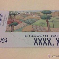 Sellos: ESTAMPILLA - ETIQUETA DE AJUSTE EXPENDEDORA - SAMMER GALLERY - EL VERANO - 13-NOV-04. Lote 53632462