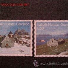 Sellos: GROENLANDIA 1993 IVERT 222/3 *** NORDEN-93 - TURISMO EN LOS PAISES NÓRDICOS. Lote 54504868