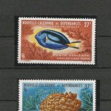 Sellos: NUEVA CALEDONIA 1965 ACUARIO DE NOUMEA. Lote 55234949
