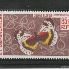 Sellos: NUEVA CALEDONIA 1967-68. CORREO AEREO. MARIPOSA. Lote 55235075