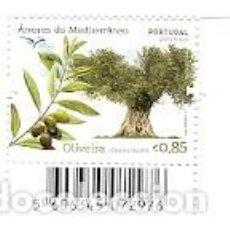 Sellos: PORTUGAL ** & ARBOLES DEL MEDITERRANEO, OLEA EUROPAEA, OLIVEIRA 2017 (8692). Lote 103734515