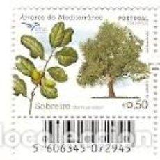 Sellos: PORTUGAL ** & QUERCUS SUBER, SOBREIRO 2017 (8689). Lote 103734547