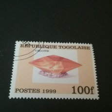 Sellos: SELLOS DE LA R DE TOGO (TOGOLAISE) MATASELLADOS. 1999. NATURALEZA. MINERALES. CALCITA. ROCAS.. Lote 103941606