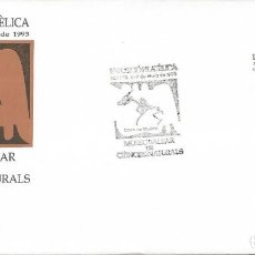 Sellos: AÑO 1993. SÓLLER, MALLORCA. MATASELLOS EXPOSICIÓN FILATÉLICA MUSEO BALEAR CIENCIAS NATURALES.. Lote 108944543