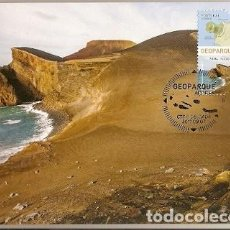 Sellos: PORTUGAL & MAXIMO, GEOPARK, VOLCANES DE AZORES, CAPELINHOS 2017 (4328). Lote 109190063