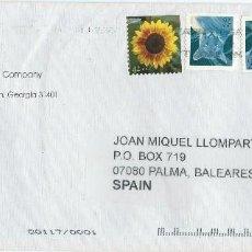Sellos: AÑO 2002. ESTADOS UNIDOS. SOBRE CIRCULADO. FRANQUEO FLORA, FAUNA, PARQUES NATURALES.. Lote 115313371