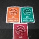 Sellos: SELLOS DE ANTILLAS HOLANDESAS NUEVOS. 1978. AHORRO DE ENERGIA. EMBLEMA. CONSERVACION.. Lote 118032579